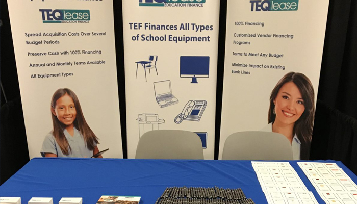 TEQlease Discusses Equipment Leasing with Charter Schools at TCSACon 2016