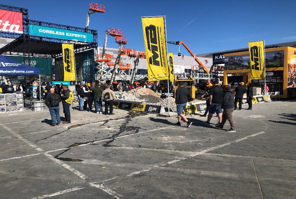 TEQlease Commercial Equipment Finance Attends World of Concrete 2020